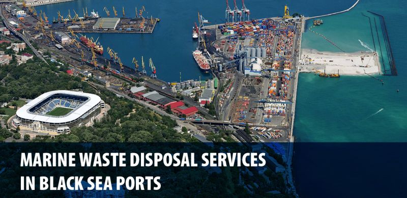 """International Conference """"Marine Waste Disposal Services in Black Sea Ports"""", which will be held in Odessa, Ukraine, in February 2017."""