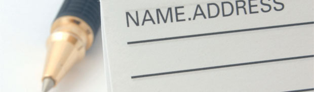 Email Name and Address